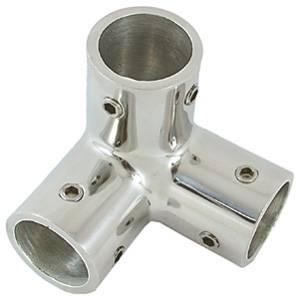 ANGOLARE INOX 3 VIE 90° DIAMETRO MM.25