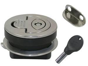 ALZAPAGLIOLO INOX 316 CON CHIAVE