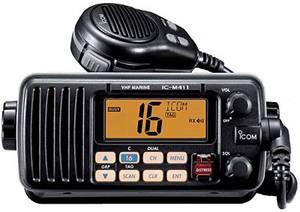 VHF IC-M411 NERO
