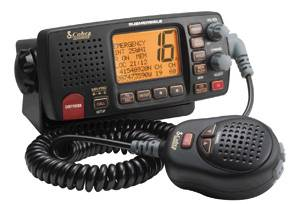VHF COBRA F80  EU  NERO