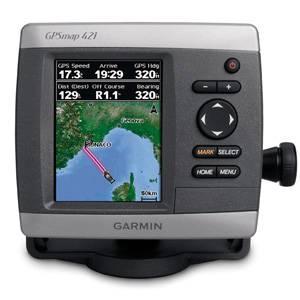 Garmin GPS MAP 421 COLOR con Bluechart G2 Vision