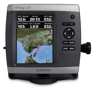GPS GARMIN MAP 521 con bluechart G2 Vision